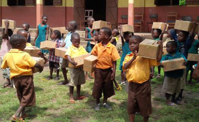 Giving at the School